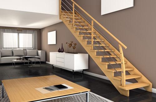 Les escaliers en bois
