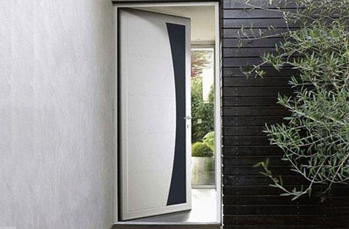 Les portes d'entrée aluminium